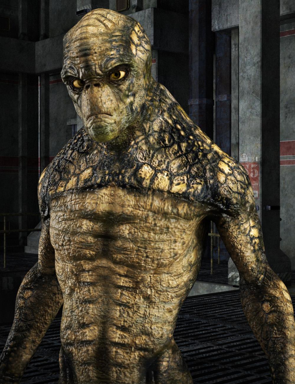 Alien-X for Genesis 3 Male(s) by: Sixus1 MediaJosh Crockett, 3D Models by Daz 3D