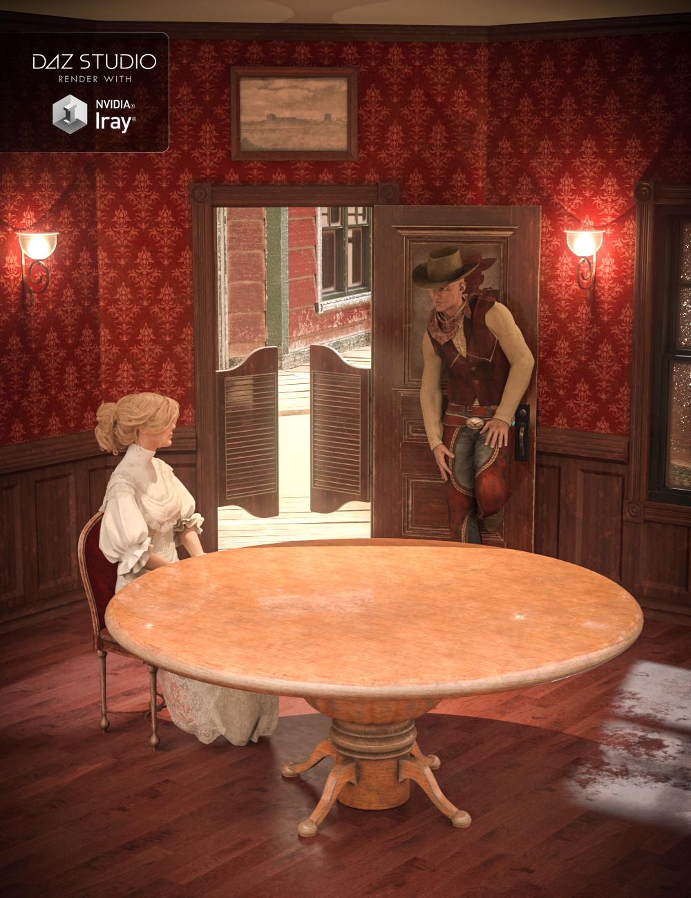 Collective3d Portrait Vignettes Old West 2 by: Collective3d, 3D Models by Daz 3D