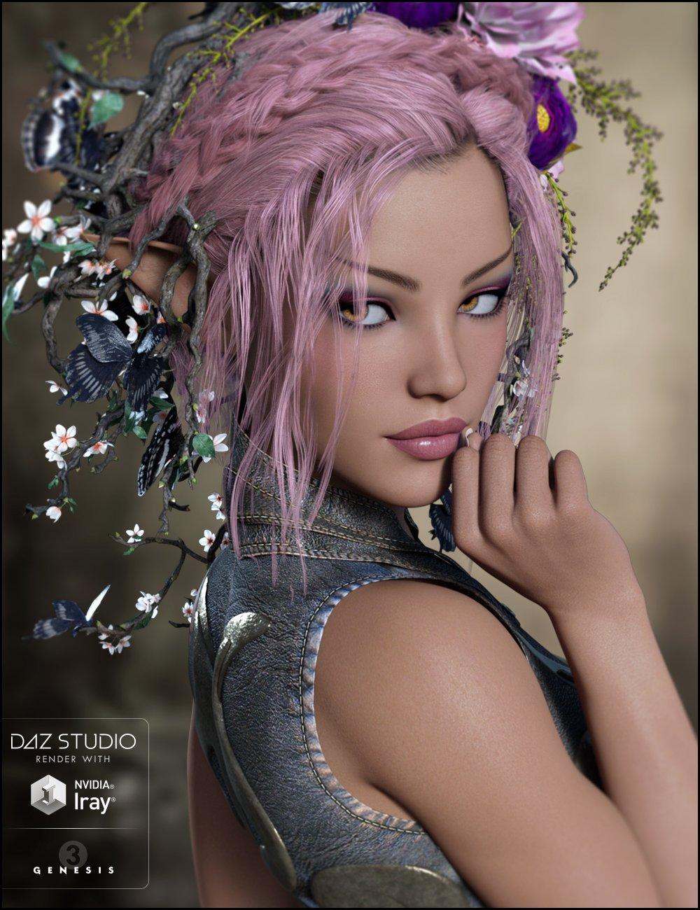 Akimitsu for Genesis 3 Female(s) by: AdieneJessaii, 3D Models by Daz 3D