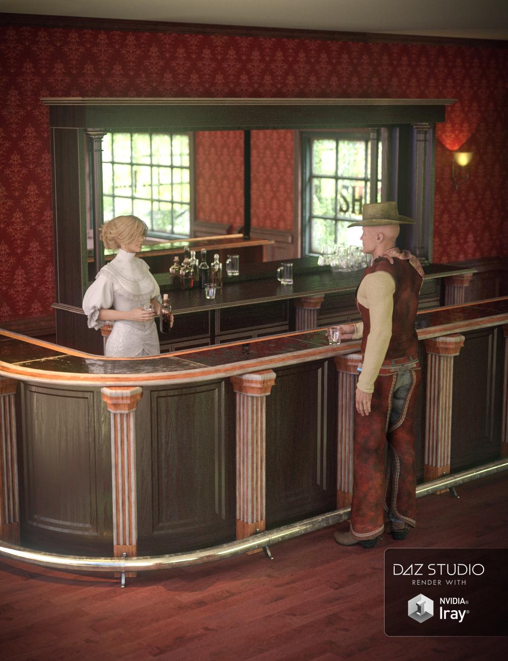 Collective3d Portrait Vignettes Old West 4 by: Collective3d, 3D Models by Daz 3D