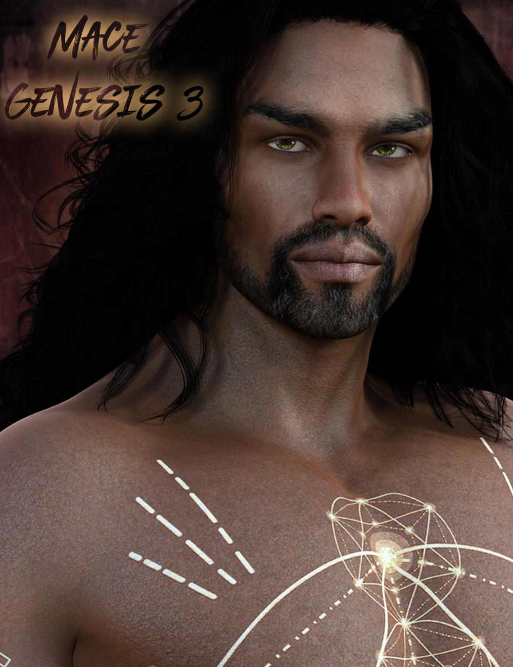 Mace for Genesis 3 Male by: gypsyangel, 3D Models by Daz 3D