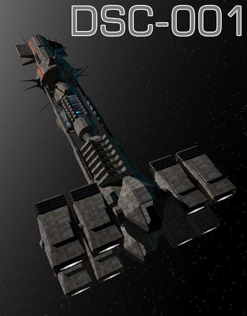 DSC-001 by: drawbridgep, 3D Models by Daz 3D