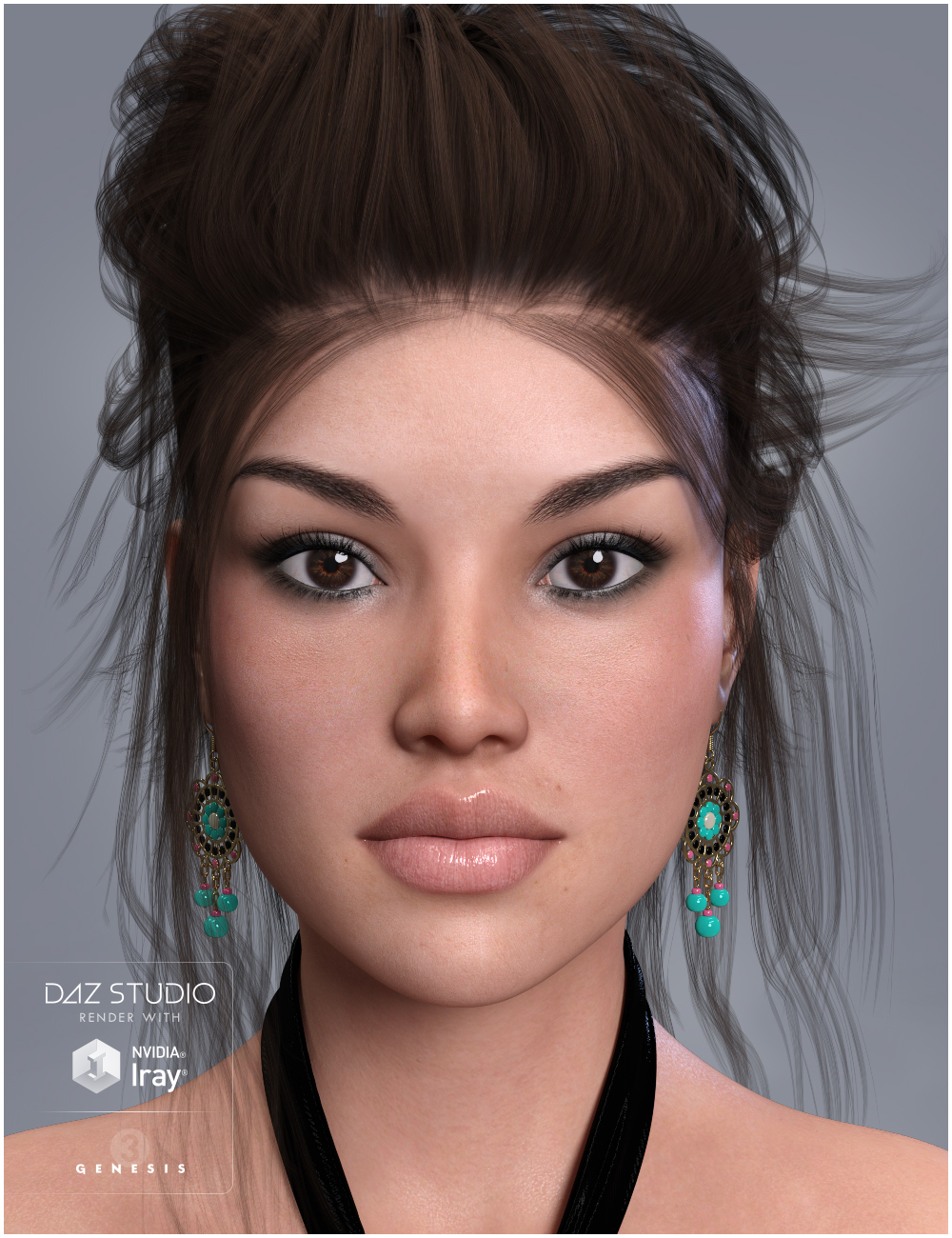 GDN Vanessa for Genesis 3 Female by: Valery3D, 3D Models by Daz 3D