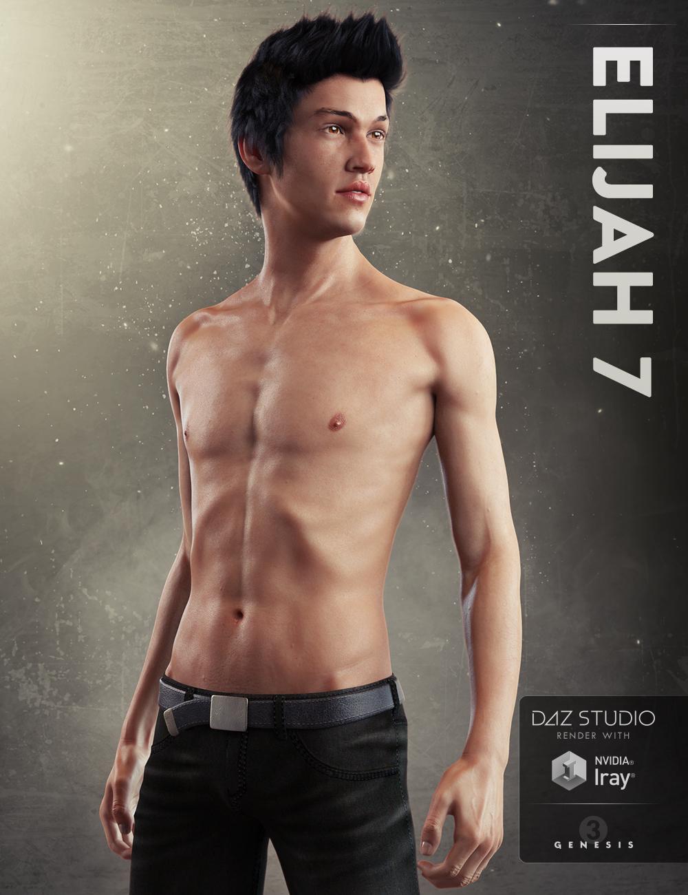 Elijah 7 by: , 3D Models by Daz 3D