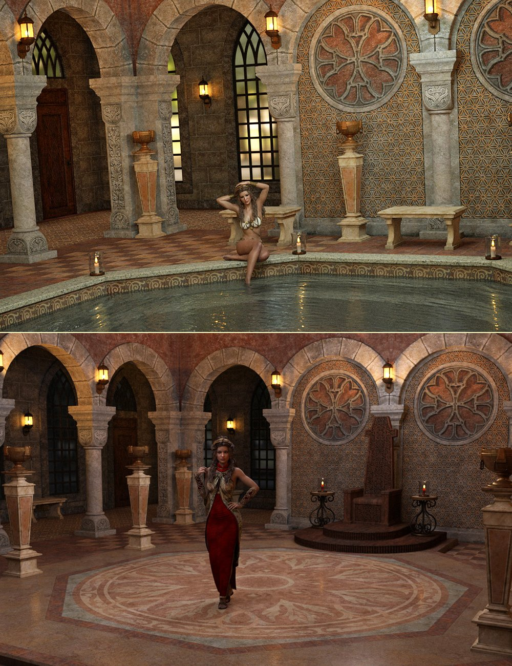 DM's Serenity Court by: Daniemarforno, 3D Models by Daz 3D