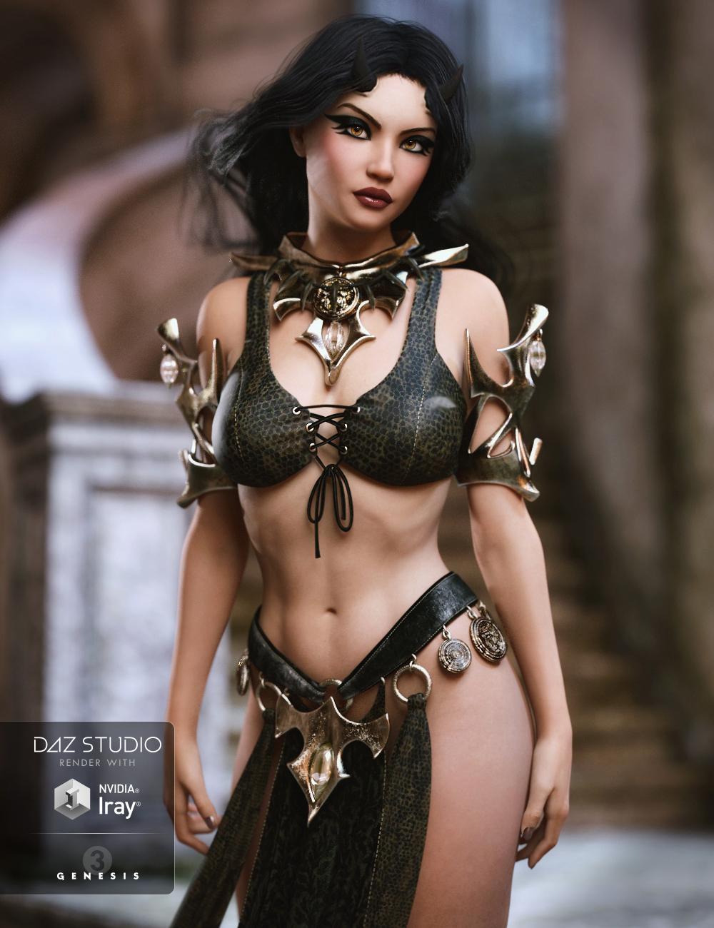 Jezebeth for Anneka Demon and She Devil by: RazielJessaii, 3D Models by Daz 3D