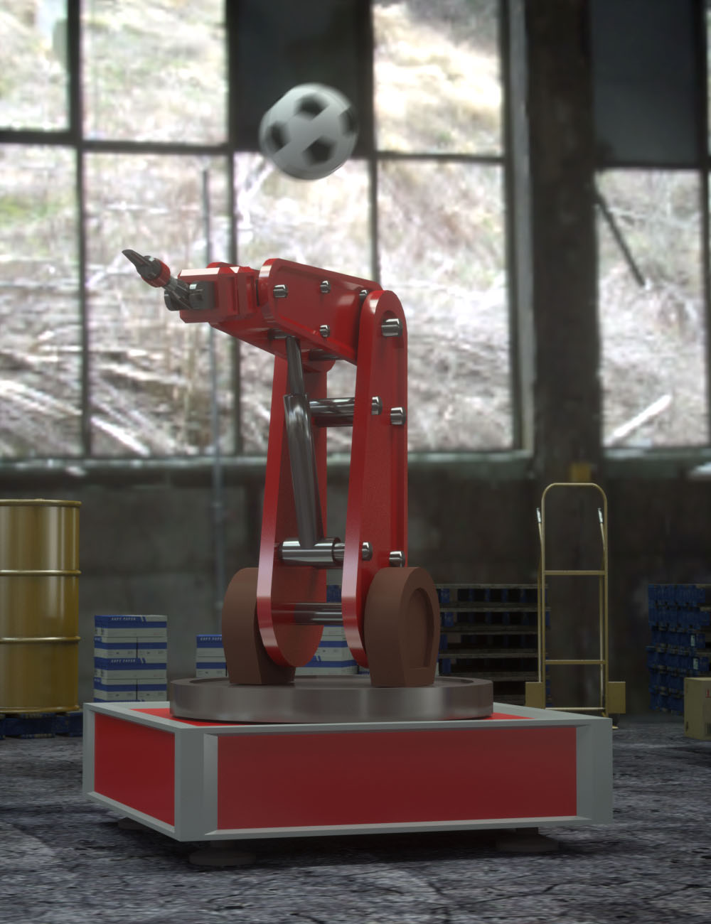 Animation in Carrara Video Tutorials by: PhilW, 3D Models by Daz 3D