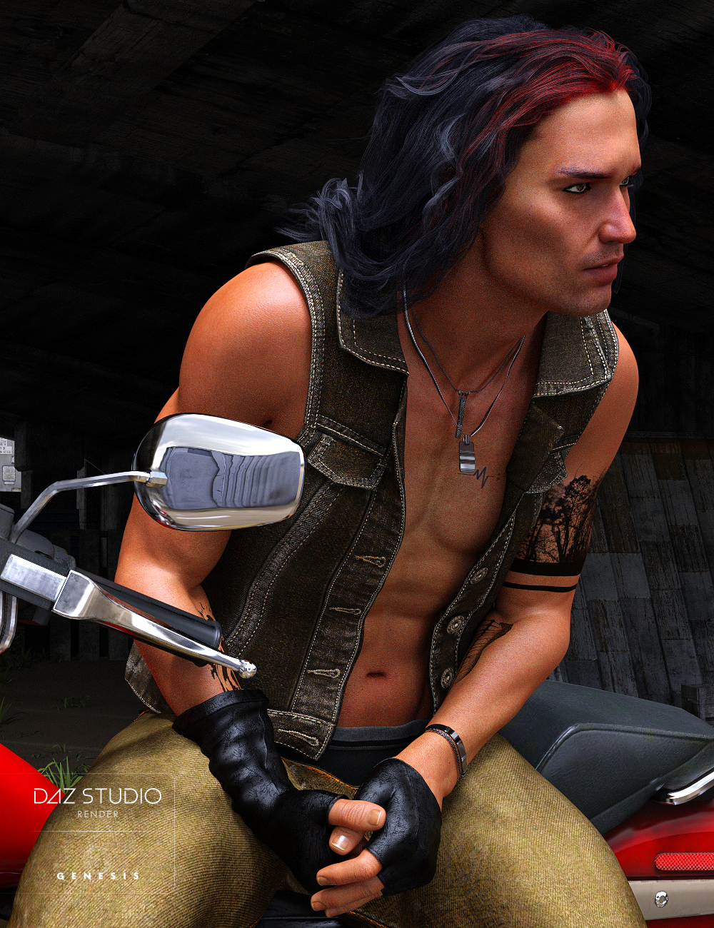 Parker for Lucian 7 by: Darwins Mishap(s), 3D Models by Daz 3D