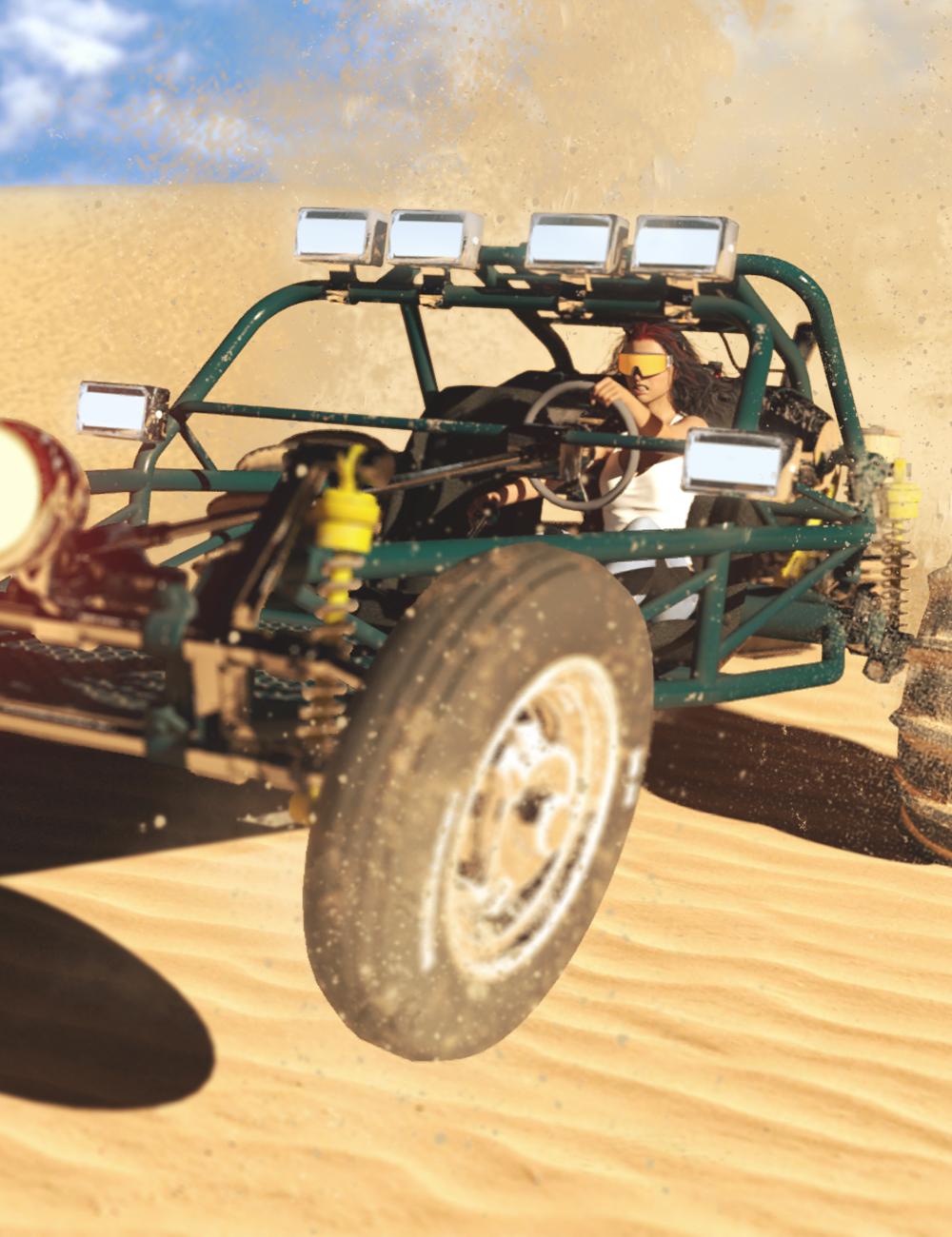 Sand Rail by: DarkEdgeDesign, 3D Models by Daz 3D