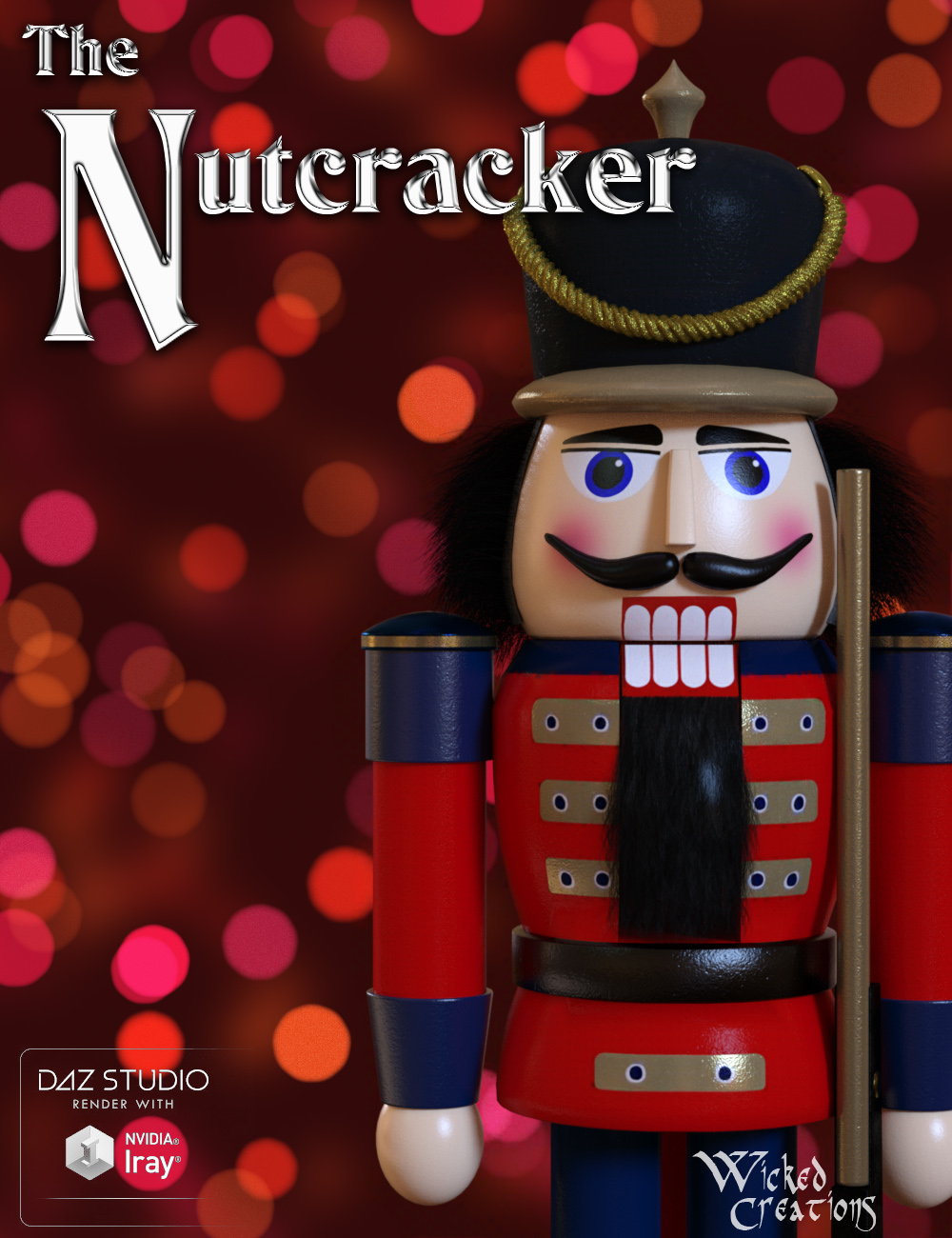 The Nutcracker by: Wicked Creations, 3D Models by Daz 3D