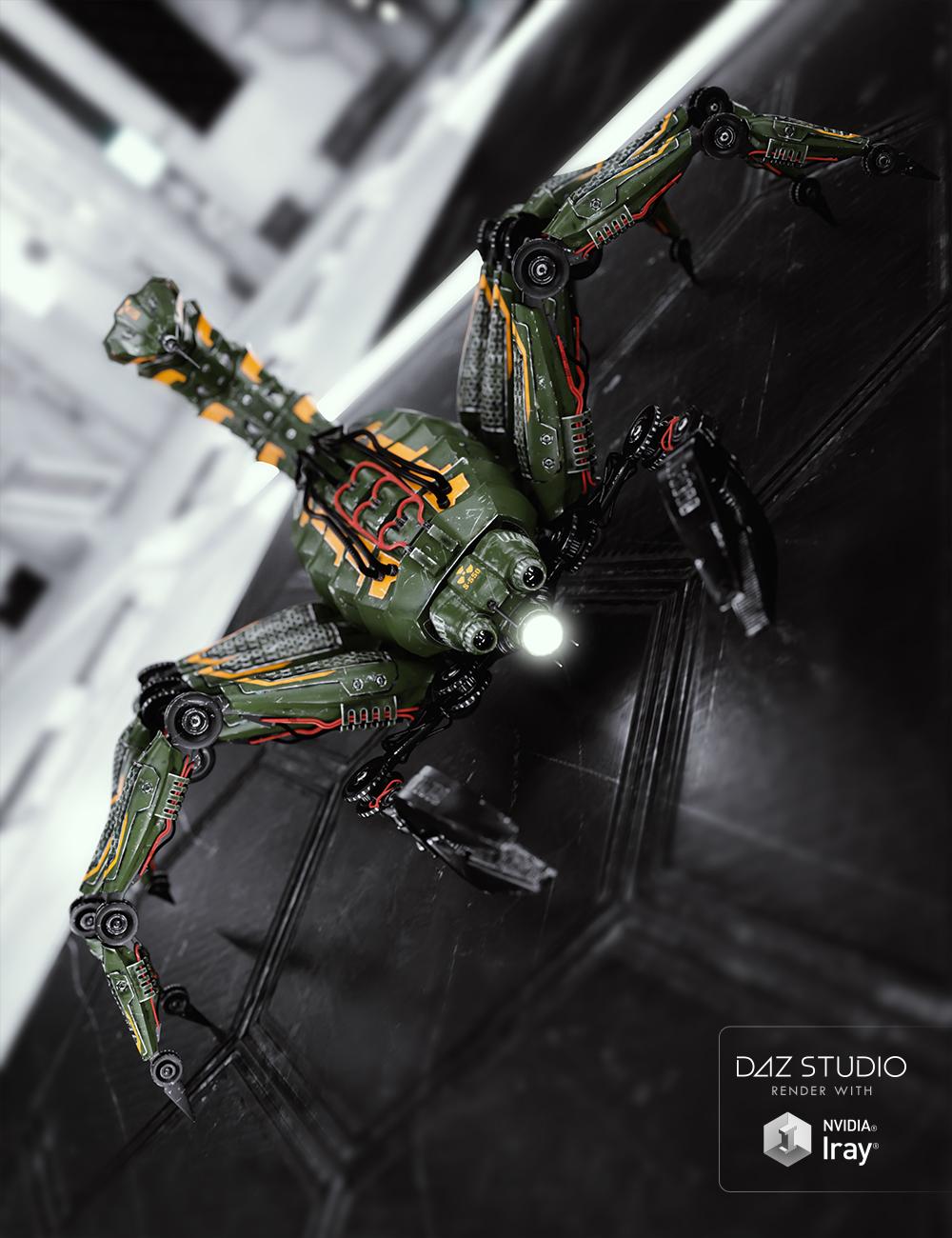 Marcoor Intel Bot - Scorpion by: Ravnheart, 3D Models by Daz 3D