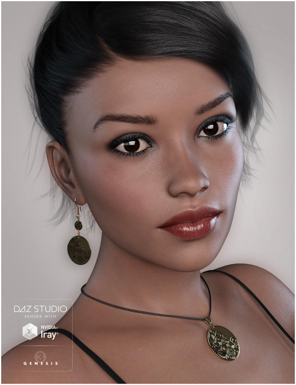 GDN Luna for Genesis 3 Female by: Valery3D, 3D Models by Daz 3D