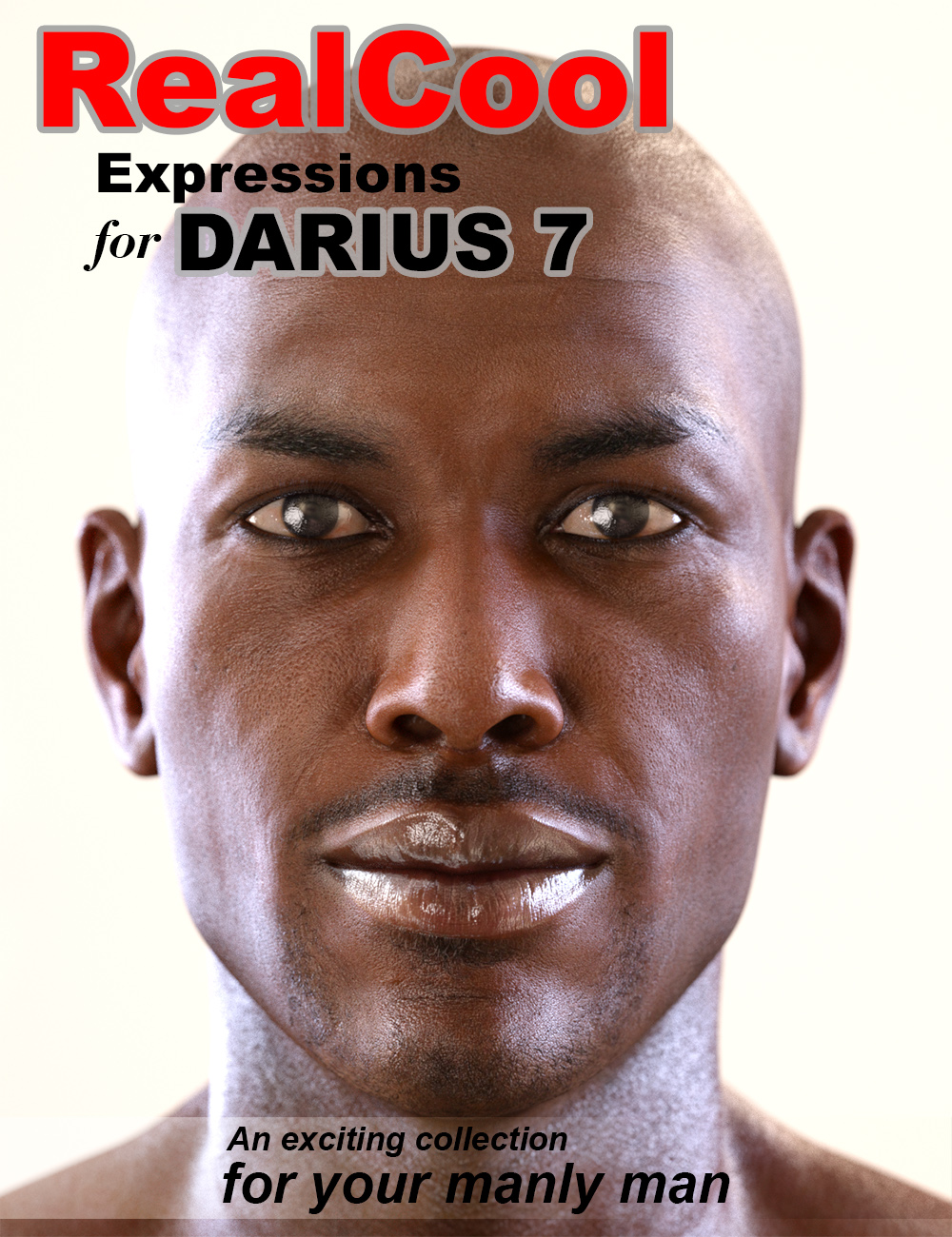 RealCool Expressions for Darius 7 by: QT168, 3D Models by Daz 3D