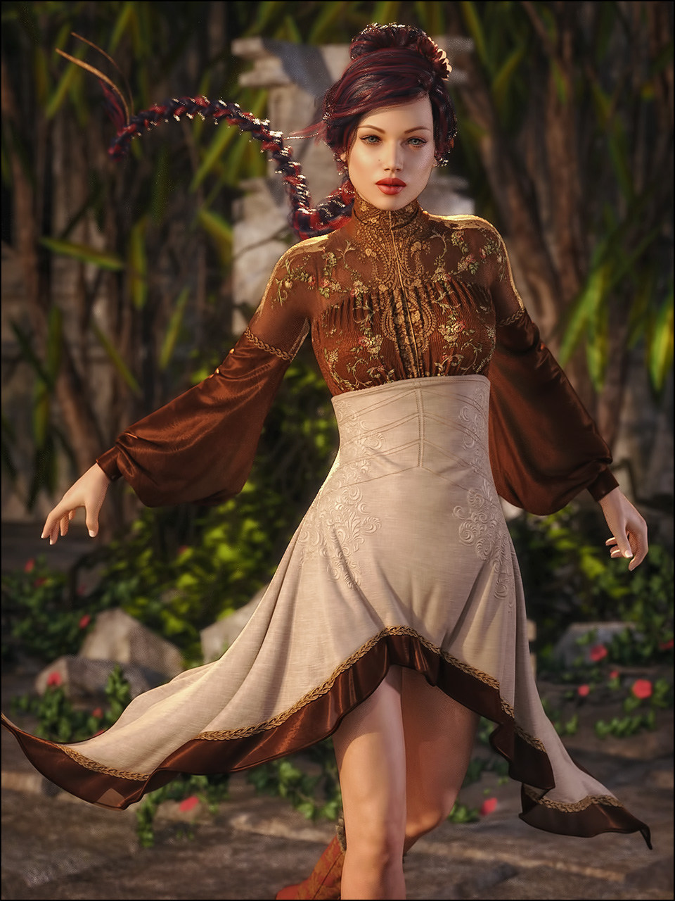 Marionette for Genesis 3 Female(s) by: SHIFTING IMAGES, 3D Models by Daz 3D