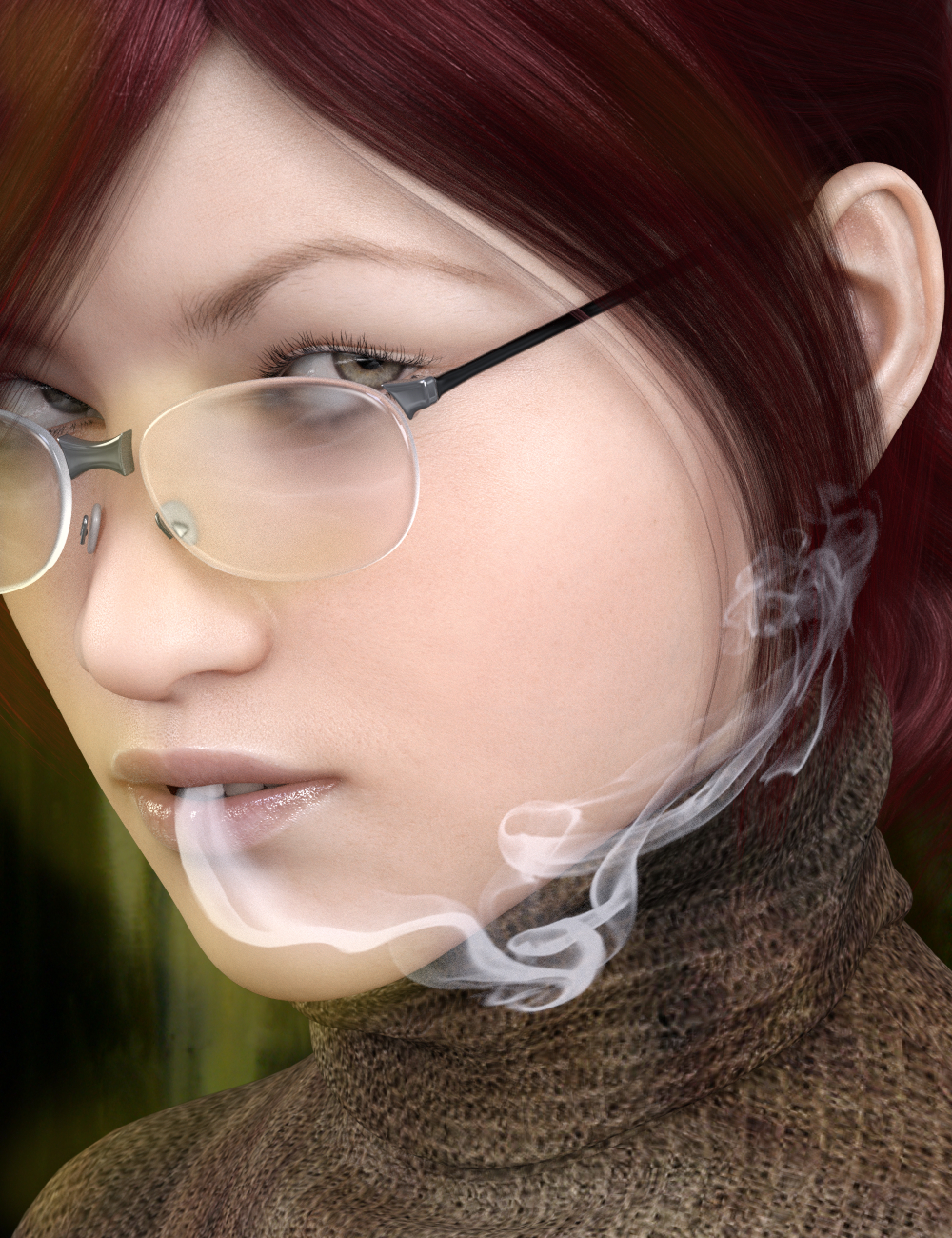 SY Rigged Speedy Smoke Iray by: Sickleyield, 3D Models by Daz 3D