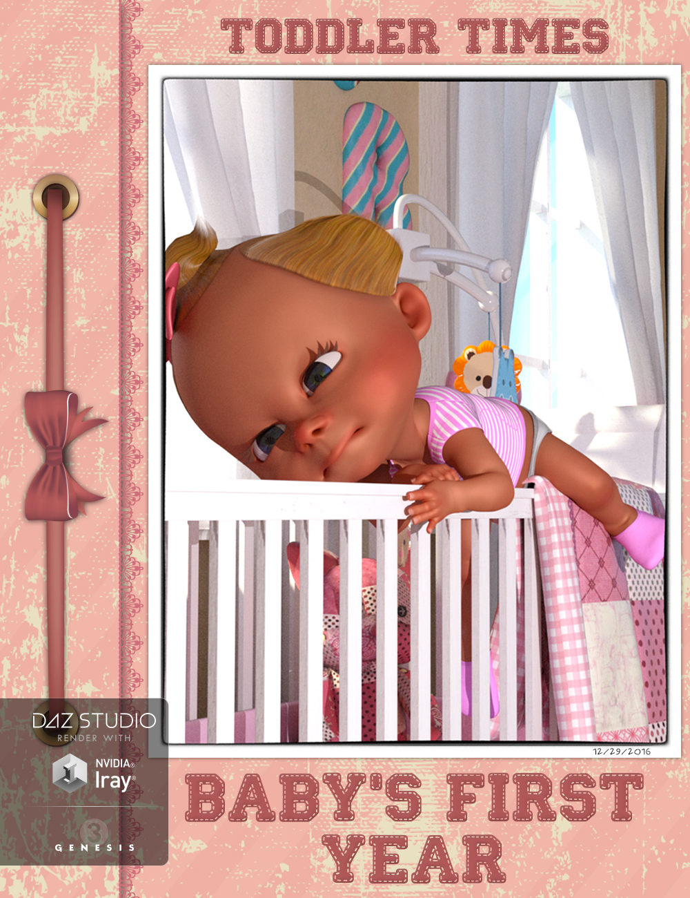 Toddler Time: Poses for the 3D Universe Toon Generation 2 Baby by: Skyewolf, 3D Models by Daz 3D