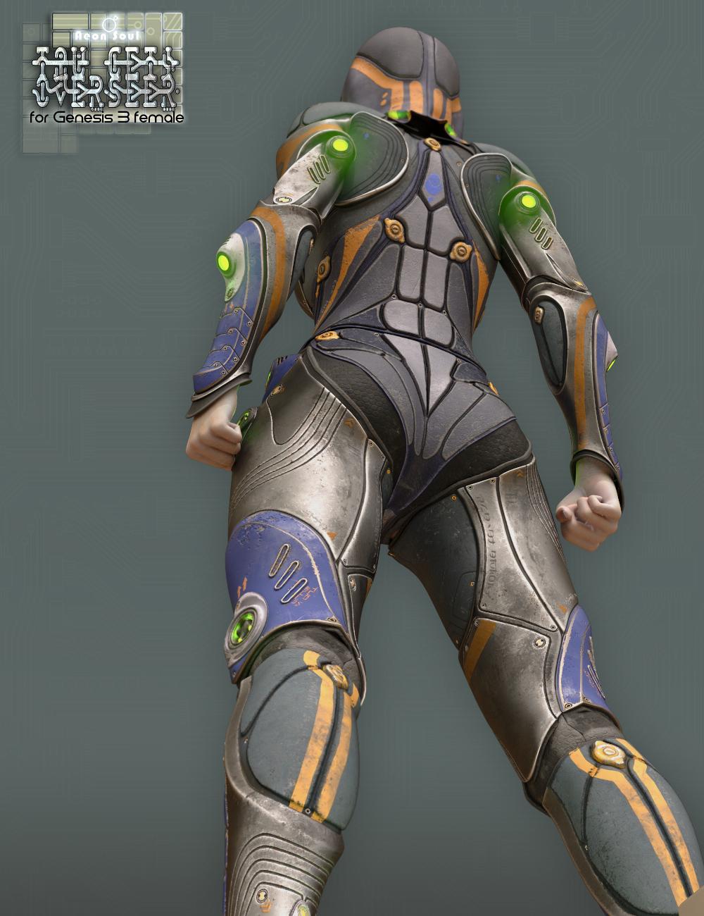 Tau Ceti Overseer - Sci-fi Armor for Genesis 3 Female(s) by: Aeon Soul, 3D Models by Daz 3D