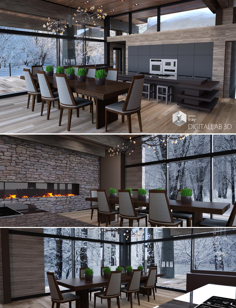 Mountain Estate by: Digitallab3D, 3D Models by Daz 3D