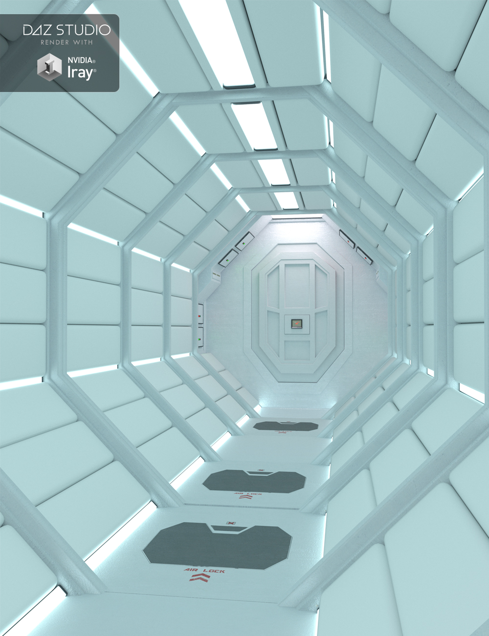 Echo Lima Halls by: Moonscape Graphics, 3D Models by Daz 3D
