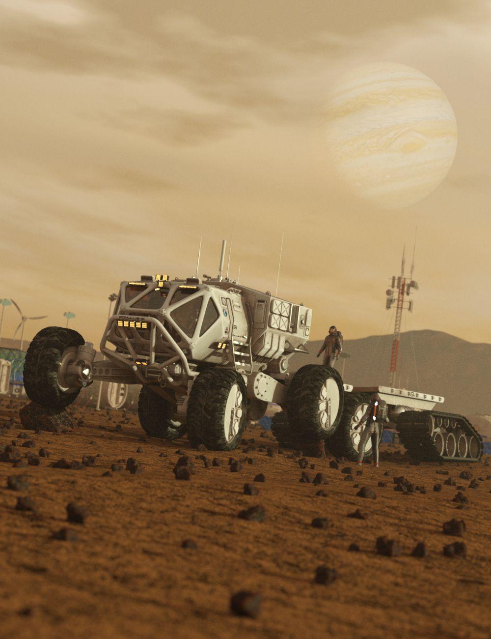 Romulus-01 Rover by: DzFire, 3D Models by Daz 3D