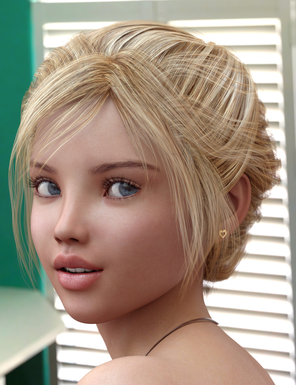Fantasy Hair for Genesis 3 Female(s) by: 3D Universe, 3D Models by Daz 3D