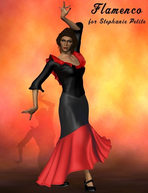 Spanish Rose -- SP3 Flamenco by: , 3D Models by Daz 3D