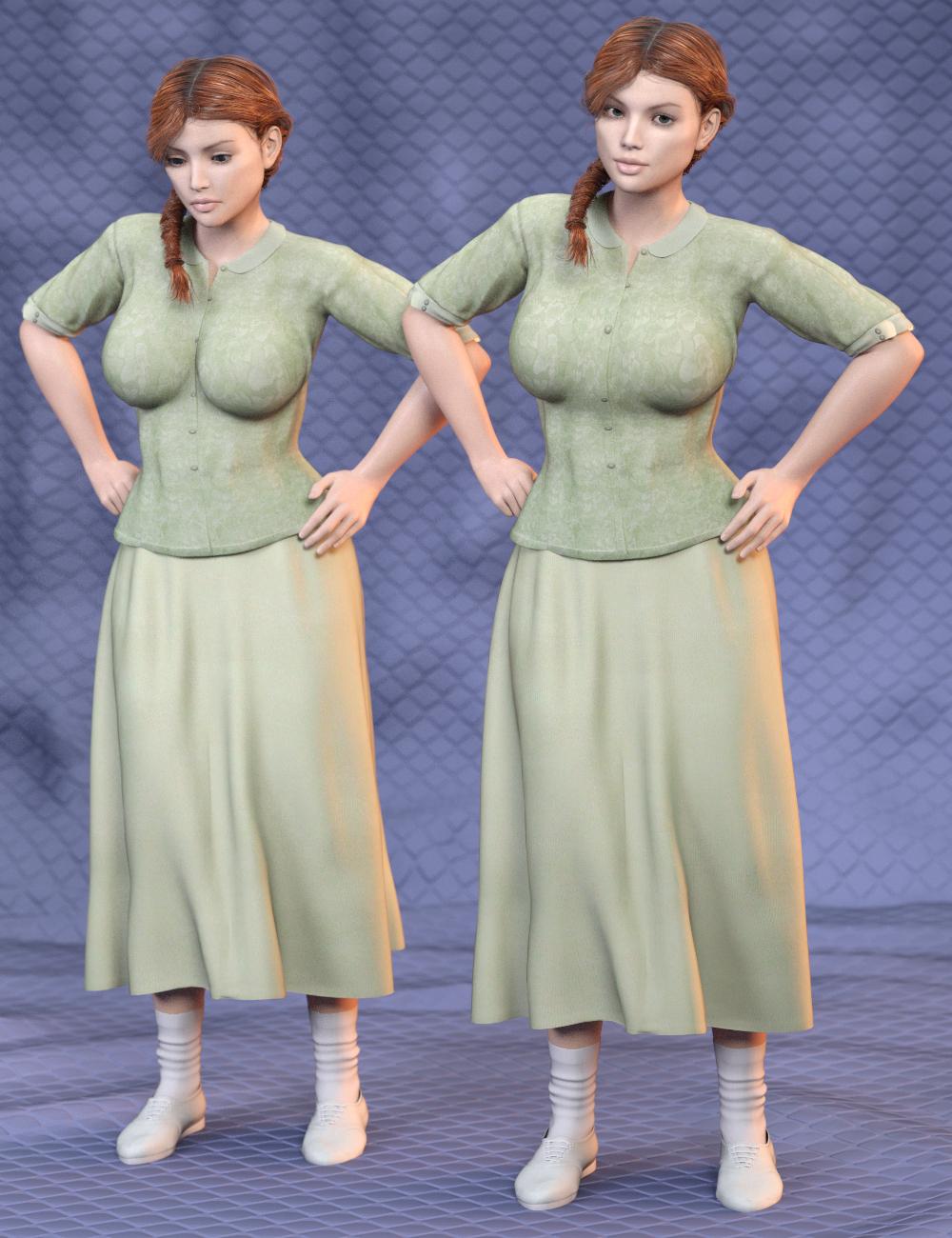 SY Universal Breast Helpers Genesis, Genesis 2 and Genesis 3 Female(s) by: Sickleyield, 3D Models by Daz 3D