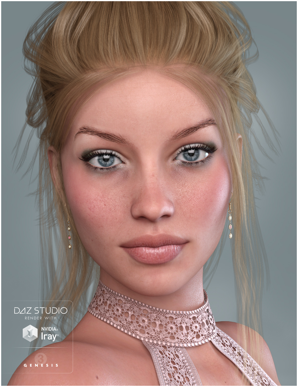 GDN Claudia for Eva 7 by: Valery3D, 3D Models by Daz 3D