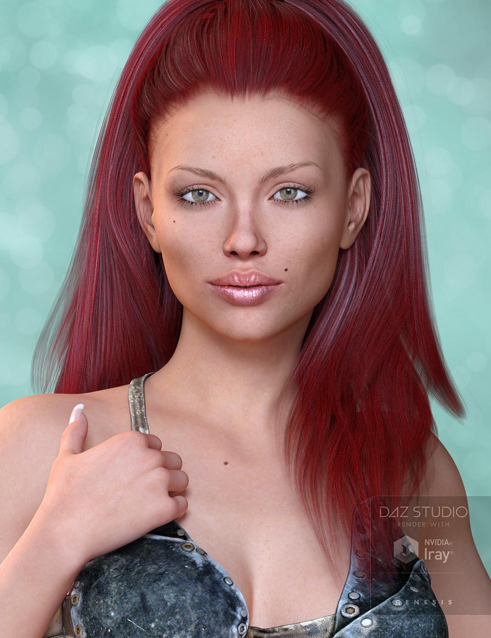 Mst Mai for Genesis 3 Female by: Mstene, 3D Models by Daz 3D