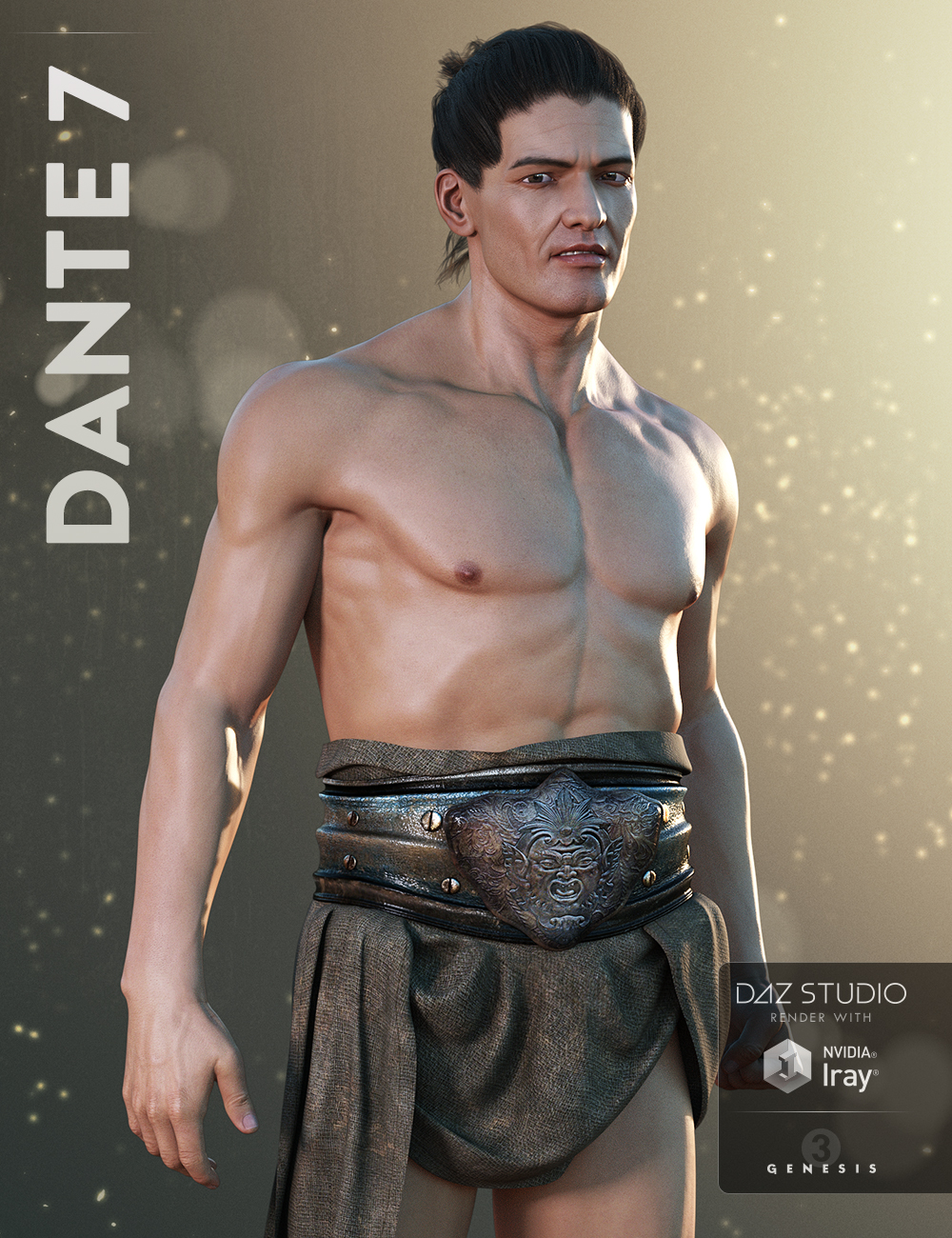 Dante 7 by: , 3D Models by Daz 3D