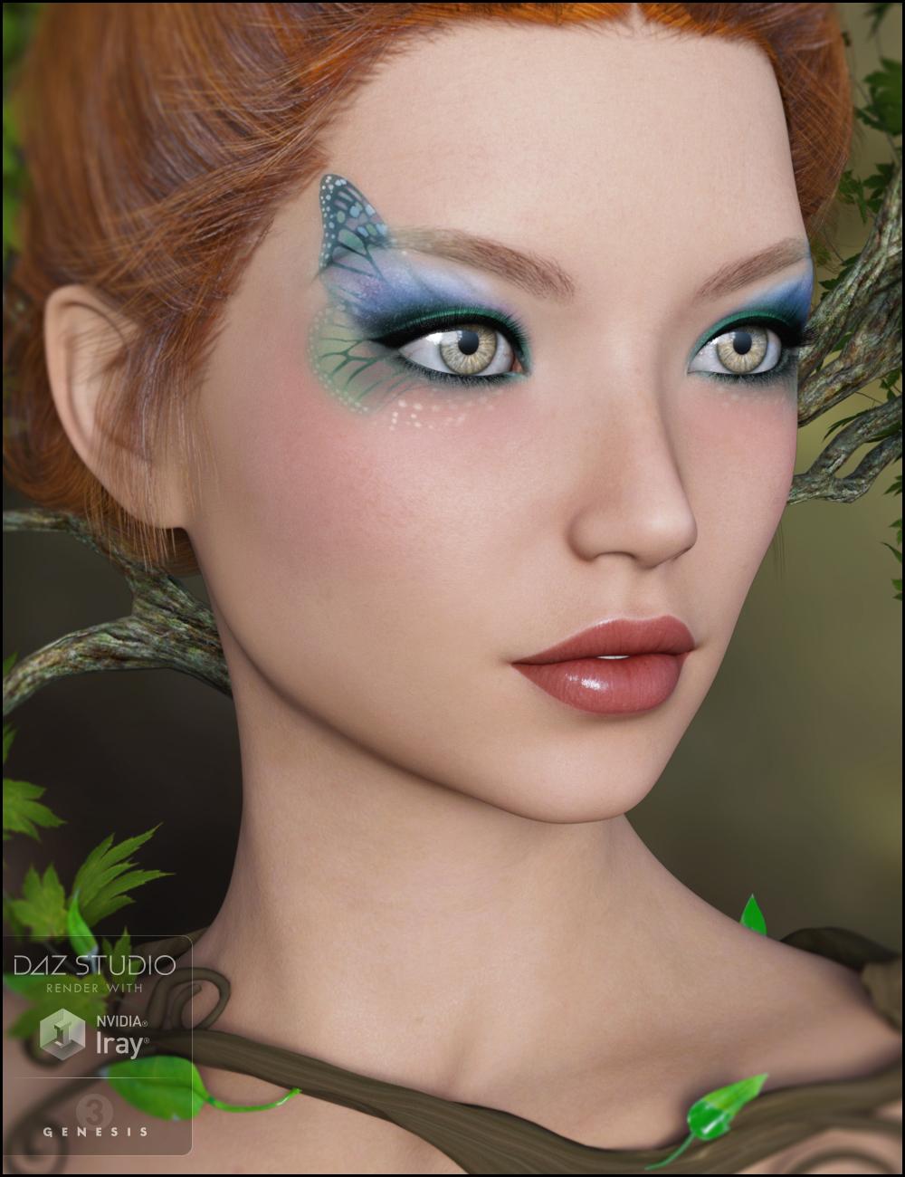 Irisa for Genesis 3 Female by: Jessaii, 3D Models by Daz 3D