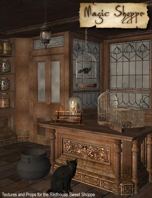 Magic Shoppe by: IsauraS, 3D Models by Daz 3D