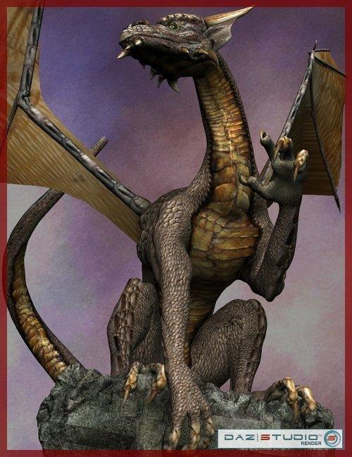 Millennium Dragon LE by: , 3D Models by Daz 3D