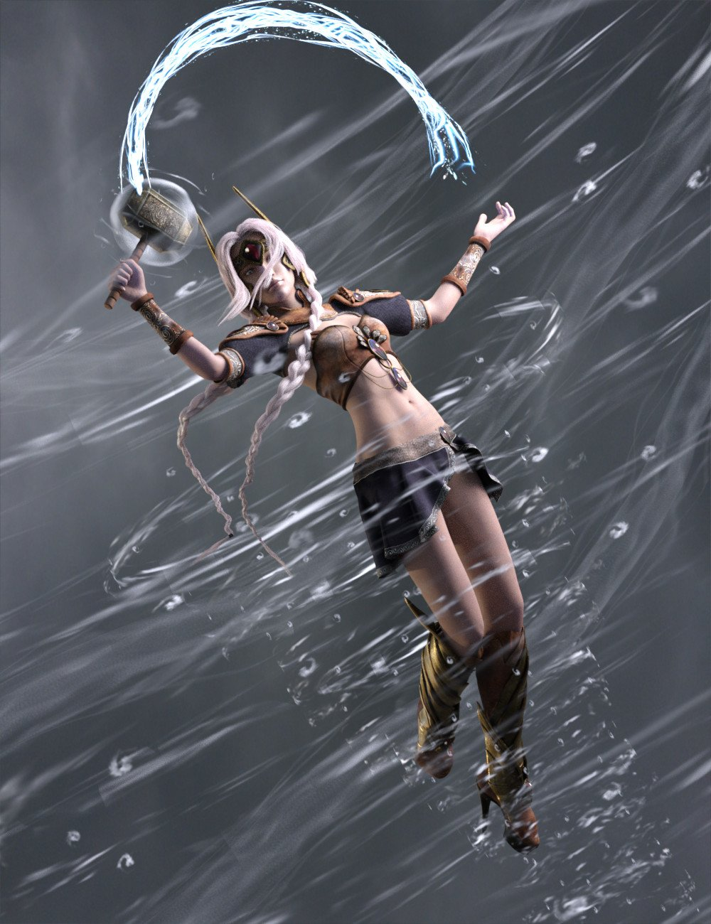 FSL Elements of Magic by: Fuseling, 3D Models by Daz 3D