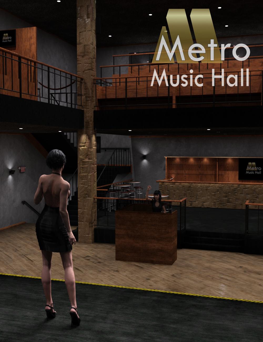 IDG Metro Music Hall by: IDG DesignsDestinysGardenInaneGlory, 3D Models by Daz 3D