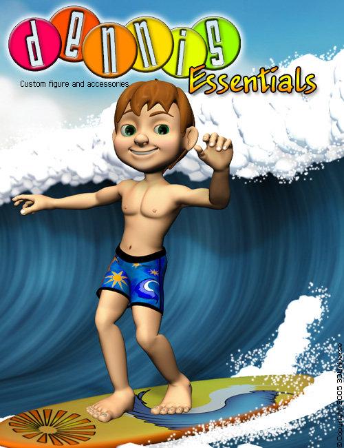 3D Universe's Dennis:Essentials by: 3D Universe, 3D Models by Daz 3D