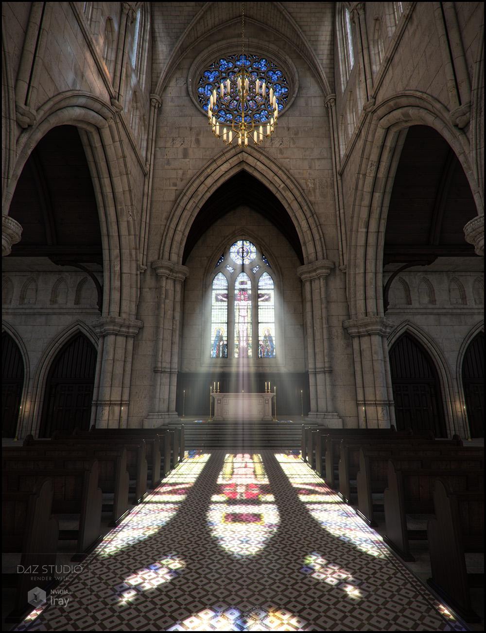 Sacrament Iray Addon by: Jack Tomalin, 3D Models by Daz 3D