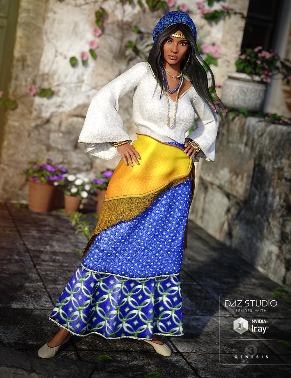 Romi for Genesis 3 Female(s) by: Ravenhair, 3D Models by Daz 3D