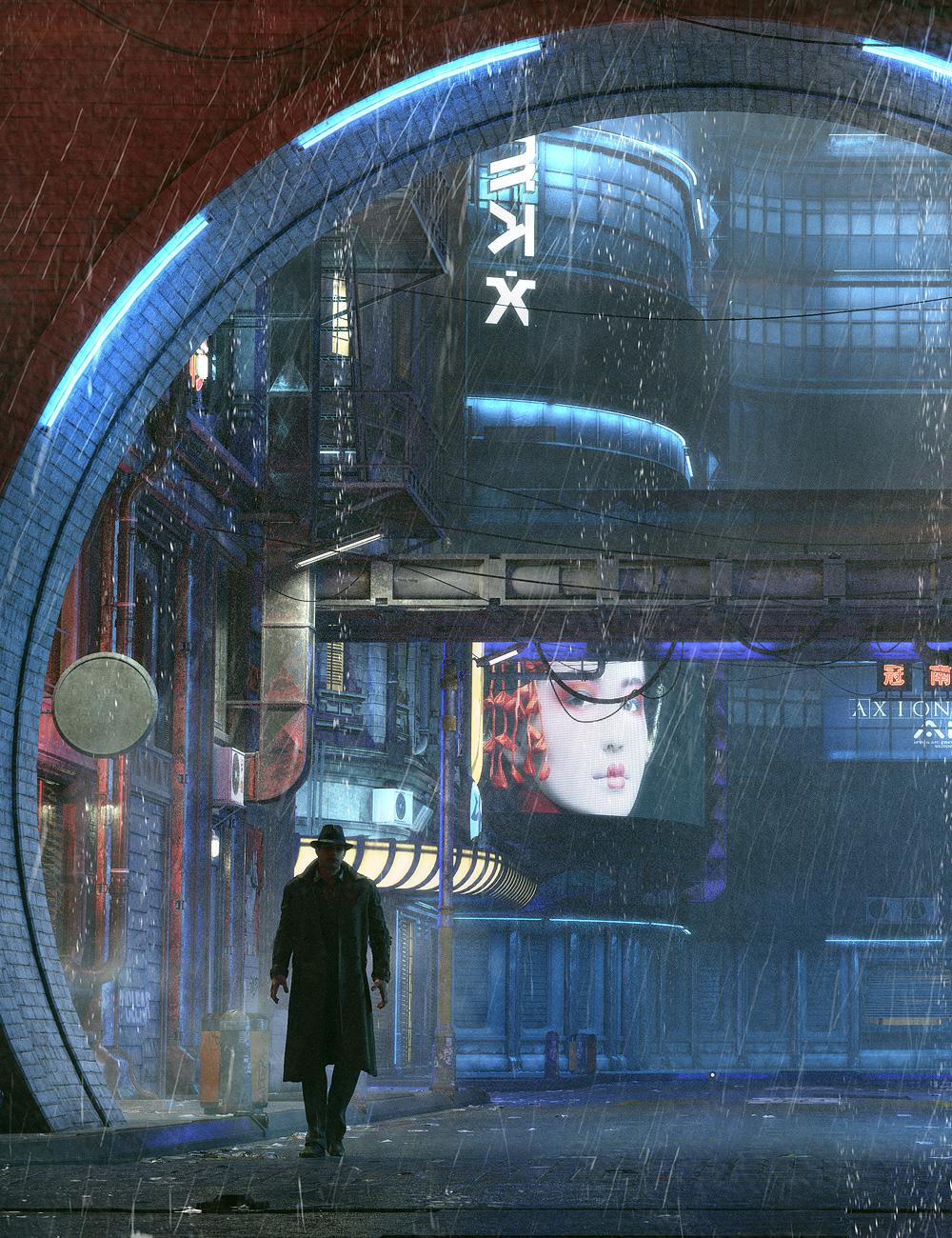 Urban Future 5 by: Stonemason, 3D Models by Daz 3D