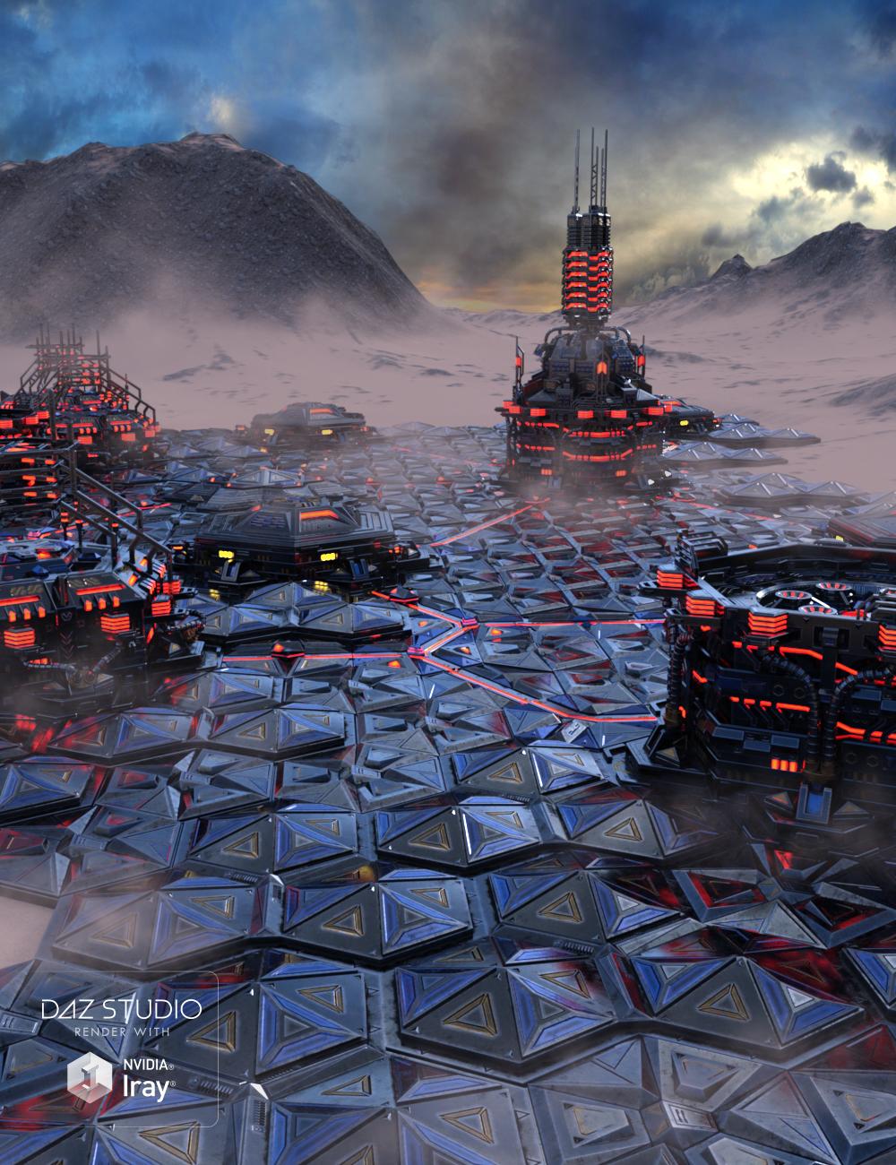 Dominator Planet by: petipet, 3D Models by Daz 3D