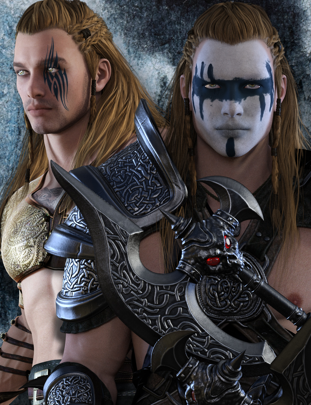 Sawyer for Genesis 3 Male by: gypsyangel, 3D Models by Daz 3D