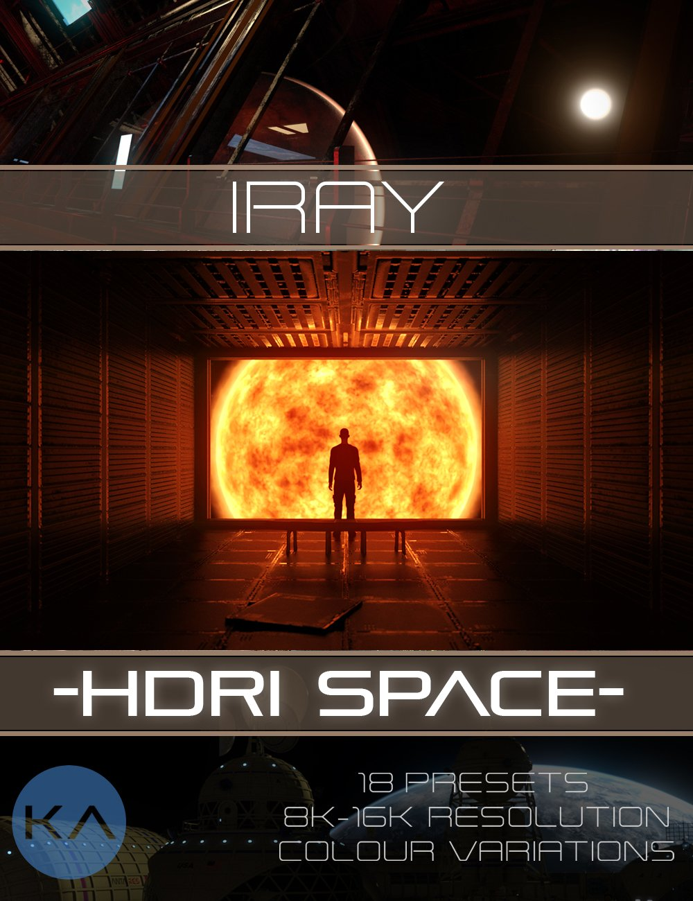 Iray HDRI Space by: KindredArts, 3D Models by Daz 3D