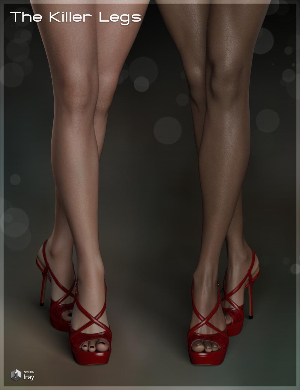 Killer Legs Morphs for Genesis 3 Female(s) by: Fabiana, 3D Models by Daz 3D