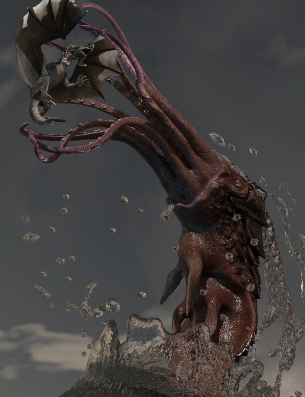 The Great Kraken by: Valandar, 3D Models by Daz 3D