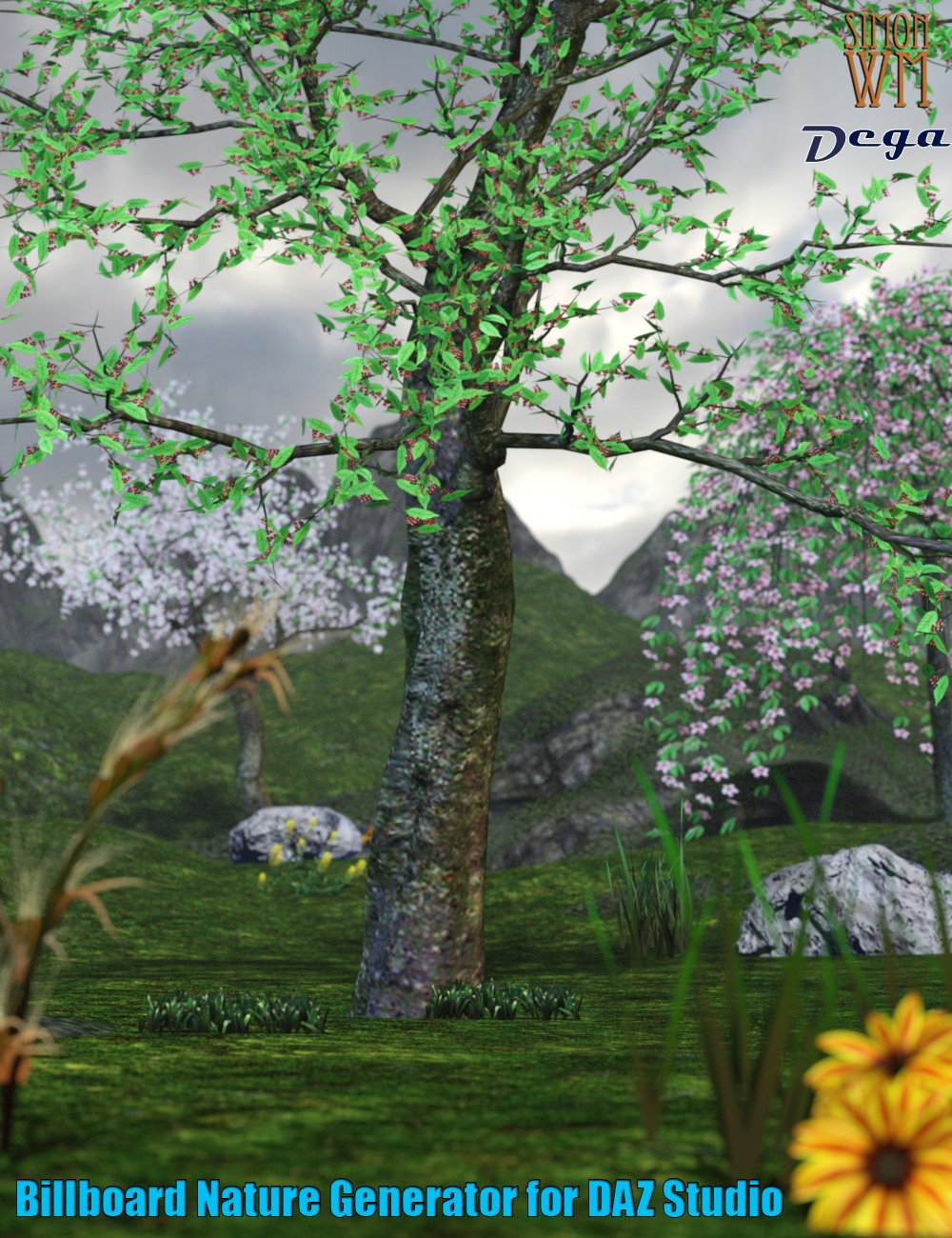 Nature Billboards for Daz Studio by: SimonWMDega, 3D Models by Daz 3D