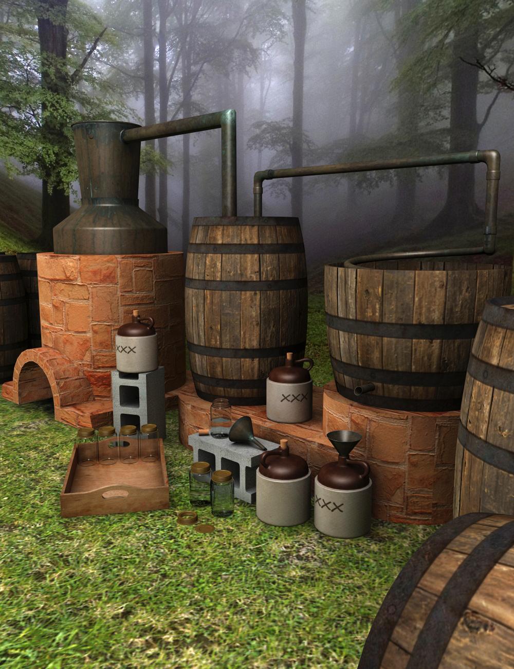 Moonshine Still by: hypnagogia, 3D Models by Daz 3D