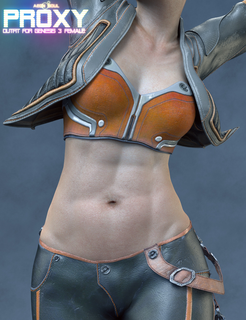 Proxy Outfit for Genesis 3 and 8 Female(s) by: Aeon Soul, 3D Models by Daz 3D