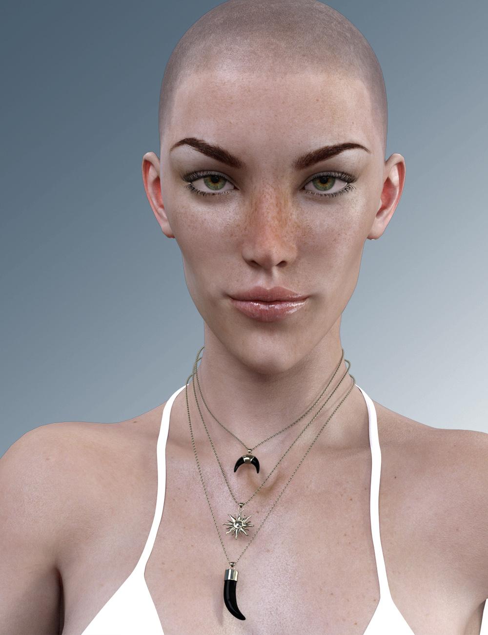 X-Leonore for Genesis 3 Female by: xtrart-3d, 3D Models by Daz 3D