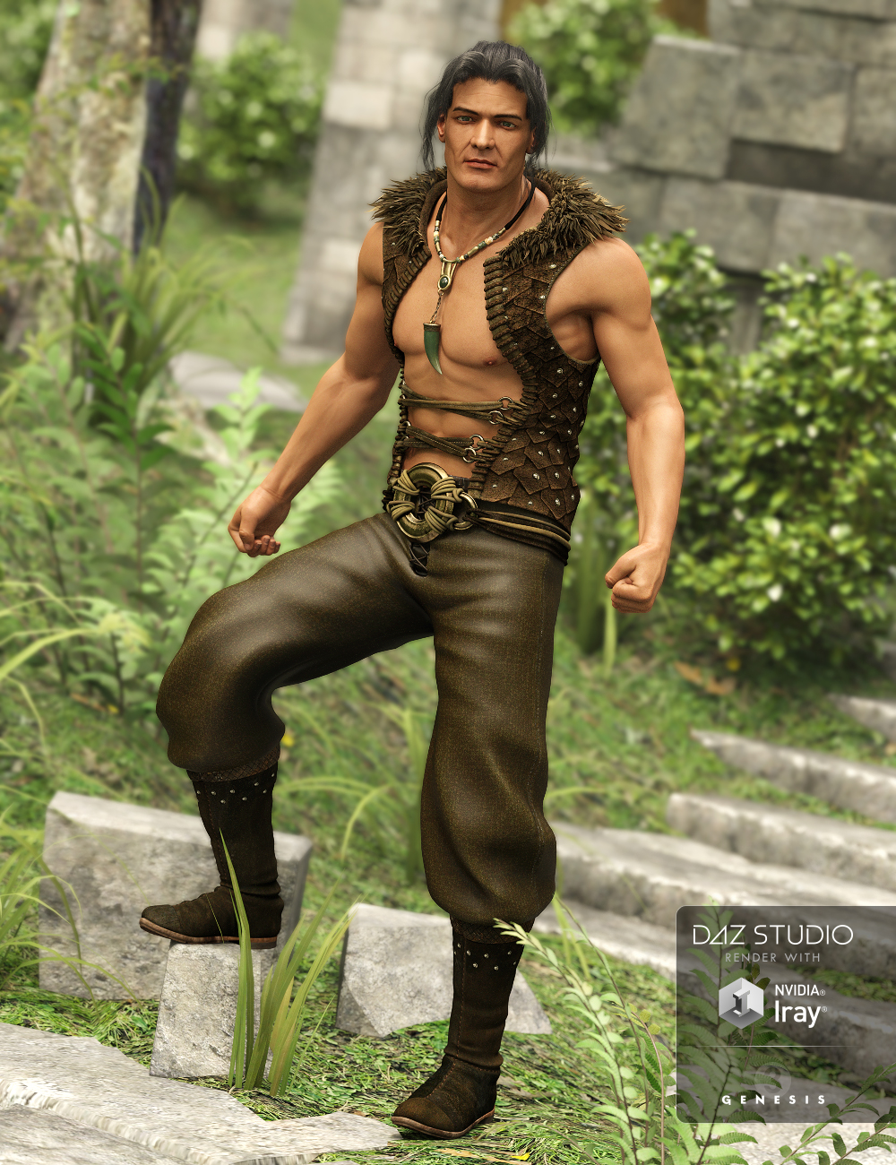Havoc Outfit for Genesis 3 Male(s) by: Anna BenjaminMada, 3D Models by Daz 3D