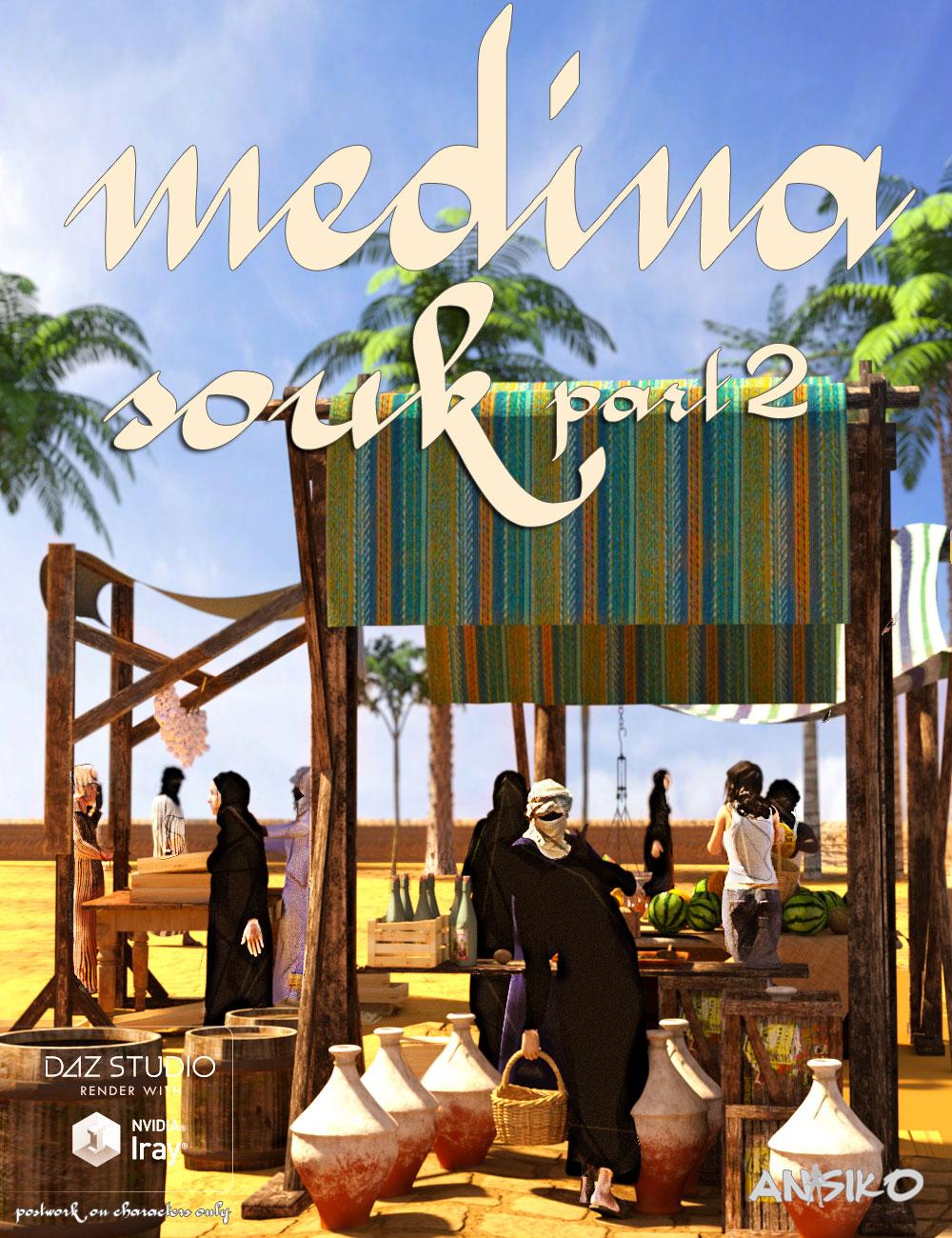 Medina Souk 2 by: Ansiko, 3D Models by Daz 3D